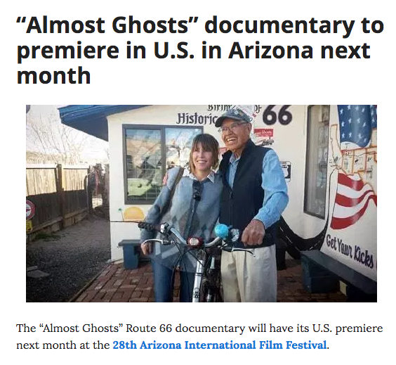 Route 66 documentary almost ghosts arizona film festival